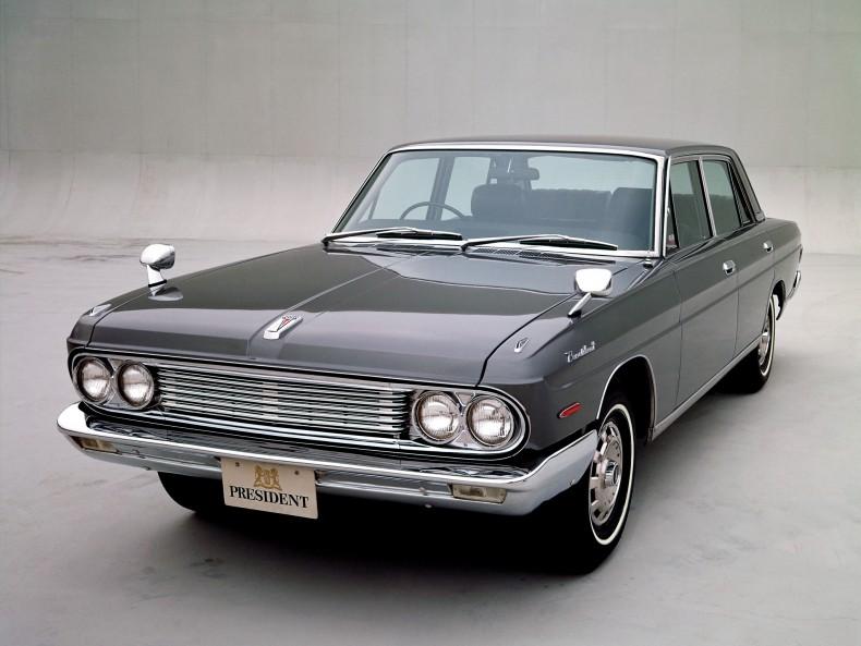 Nissan President pierwszej generacji, produkowany w latach 1965-1973