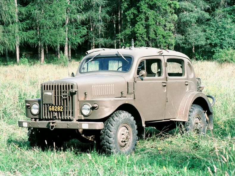 Wojskowe Volvo TP21