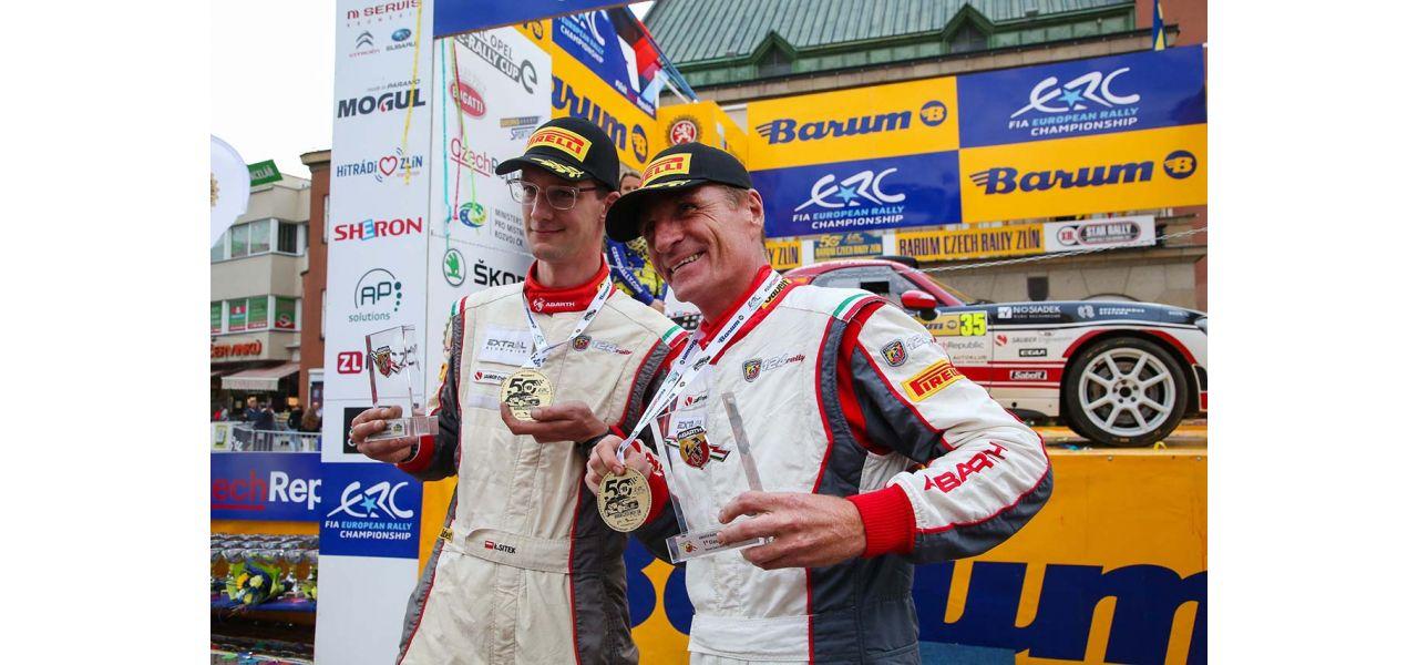 Polak wygrał Abarth Rally Cup 2021