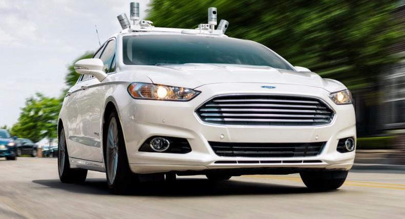 Testowy autonomiczny Ford Mondeo / Fusion