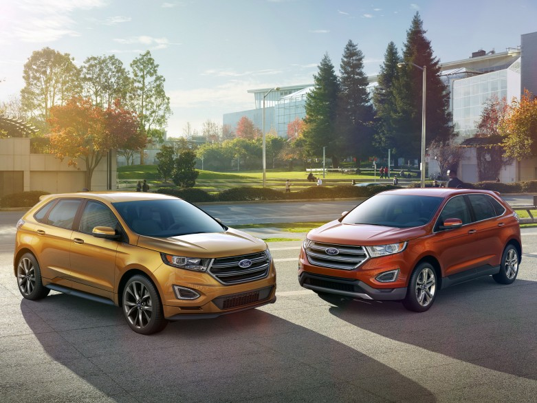 All-New 2015 Edge showcases Ford's best technology, more driver-assist features, improved performance and outstanding craftsmanship.