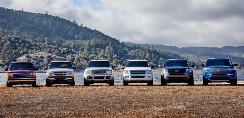 Six Generations of Explorer