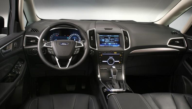 Ford Galaxy - wnętrze
