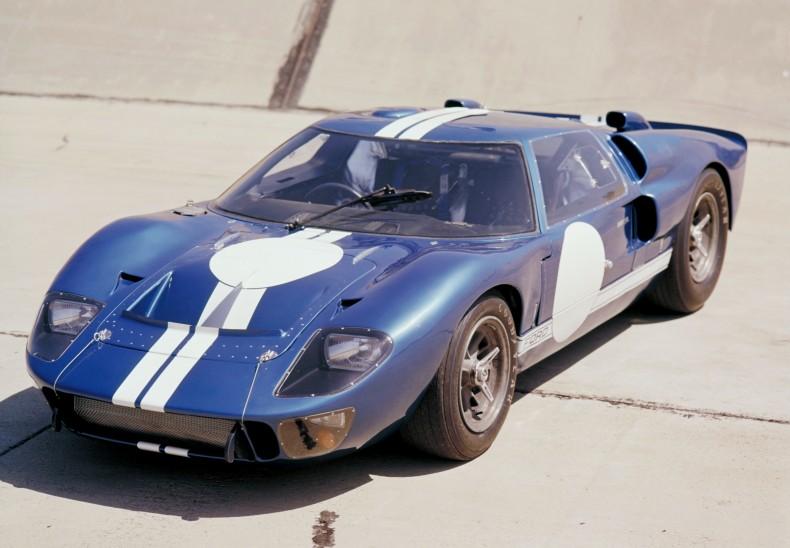 Pierwszy Ford GT40 przygotowany pod okiem Shelby'ego z 1965 roku