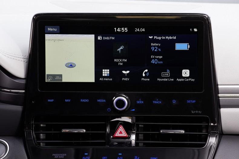 Nieduże i lekkie auto typu plug-in, jak na przykład Hyundai Ioniq, może przejechać wyłącznie na prądzie 50 km.