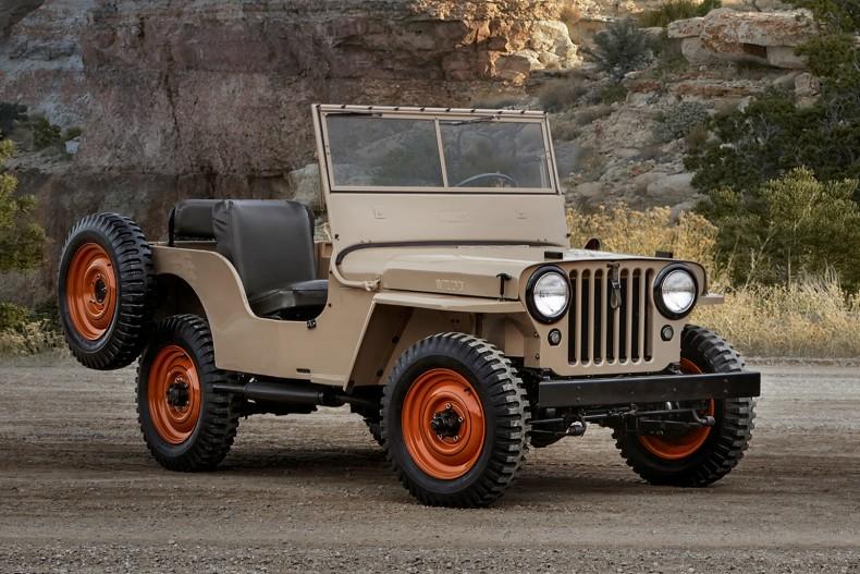 Jeep CJ-2A, nie Willis jest prawdziwym protoplastą Wranglera.