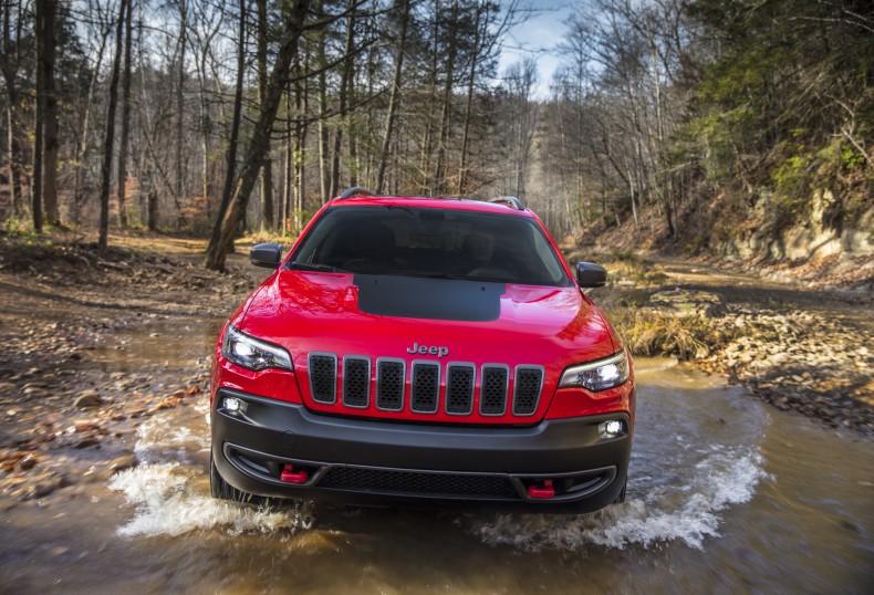 2019 Jeep® Cherokee Trailhawk