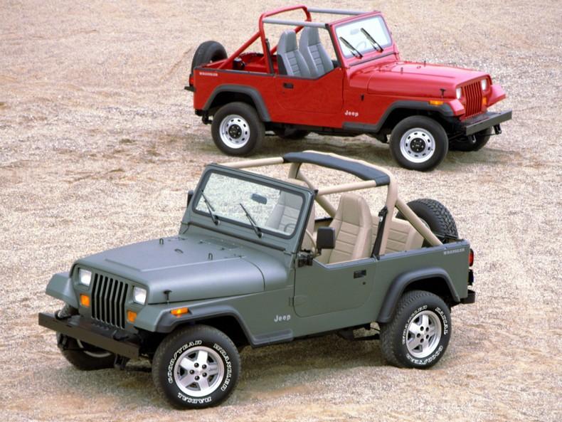 Pierwszy Jeep Wrangler YJ