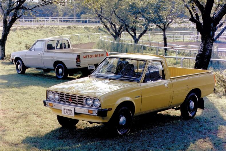 Mitsubishi L200 (Forte) pierwszej generacji