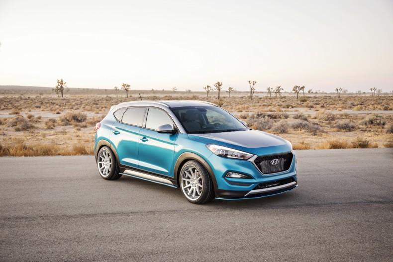 Vaccar Hyundai Tucson Sport Concept - być może tak będzie wyglądał Tucson N?