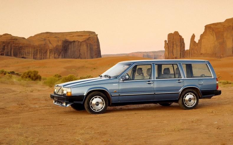 Volvo 760 - elegancki, praktyczny, bezpieczny i chętnie kupowany za Oceanem.